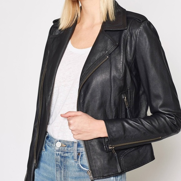 Joie Jackets & Blazers - Joie Ailey Leather Jacket